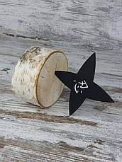 Зірочка сюрікени FR-57. Метальна зірка-сюрікени. Зброя ніндзя., фото 3