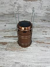 Кемпинговый складной фонарь G-85 в комплекте с охотничьим ножом Colunbia КА3188, туристический фонарик с ножом, фото 2