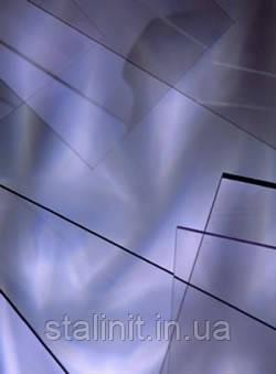 Прозрачный ПВХ лист d=1 mm