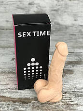 Фалоімітатор Реалістичний силіконовий фалоімітатор дилдо Фаллоимитатор на присоске Секс іграшка 17х4, фото 3