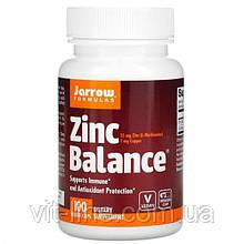 Jarrow Formulas, Цинк Zinc Balance, 100 капсул вегетаріанських