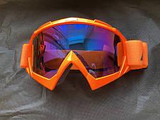 Очки Ктм маска под кроссовый мото шлем, фото 2
