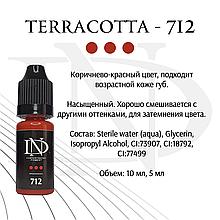 Пигмент для губ Terracotta - 712