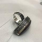 Кільце з аметрином 17,3 + - розмір безрозмірне аметрин кільце в сріблі регульоване. Індія, фото 9