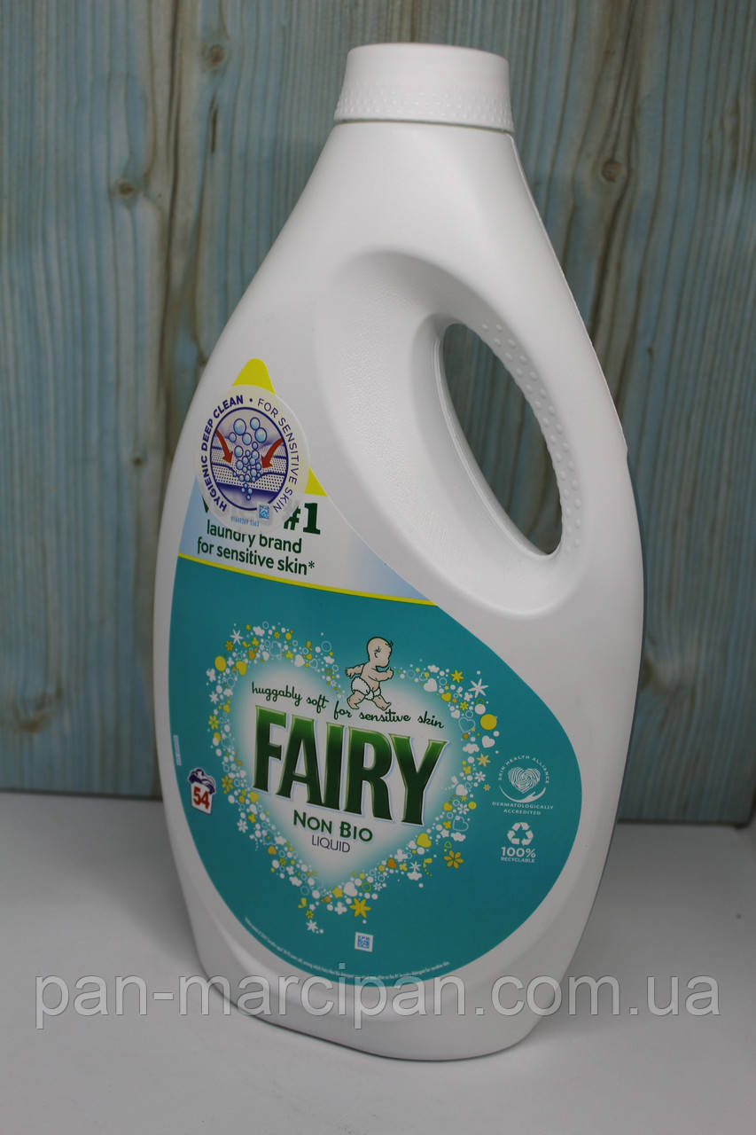 Гель для прання Fairy Non Bio 1.890 ml 54пр