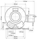 Компресор двоступінчастий для басейну Grino Rotamik SKS 80 2VM.B (88 м3/год) 0,7 кВт, фото 7