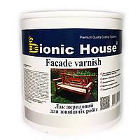 Лак  для зовнішніх робіт по дереву (2.5 л) Bionic House (Біонік Хаус)
