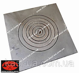 Плита чугунная печная однокомфорочная  под казан ПД-1КГ (750 х 750 мм.)