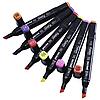 Скетч маркери для малювання Thiscolor 24шт / Набір маркерів для малювання, фото 6