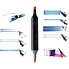 Скетч маркери для малювання Thiscolor 24шт / Набір маркерів для малювання, фото 9