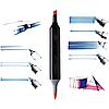 Скетч маркеры для рисования Thiscolor 24шт / Набор маркеров для рисования, фото 9