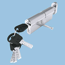 Цилиндр замка Riko 35x45T (кл.-вороток.) компьют. ключ / ключей 5 шт (50шт/упак)