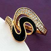 Женское кольцо из медицинского золота Xuping. Размер 20