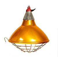 Рефлектор для інфрачервоної лампи (абажур) Tehno MS S1022 бронзовий колір