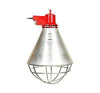 Рефлектор для інфрачервоної лампи (абажур) Tehno MS S1005 колір алюміній