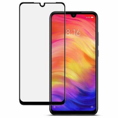 Защитное cтекло для Xiaomi Redmi 7 защита от ударов Черный