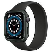 Чехол Spigen для Apple Watch SE / 6 / 5 / 4 (44mm) Thin Fit, Military Green (ACS02000)