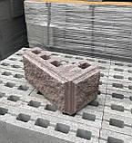 Блок рваний на стовпи двосторонній, фото 2