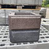 Блок рваний на стовпи двосторонній, фото 7