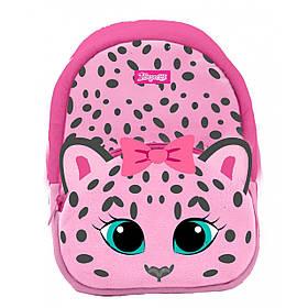 """Рюкзак дитячий 1Вересня K-42 """"Pink Leo"""", рожевий"""