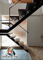 П-подібні металеві сходи на монокосоурі - виїзд замірника до вас додому або в офіс, фото 1