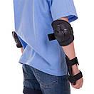 Захист дитяча наколінники, налокітники, рукавички Hypro 108, розмір S (8-12 років), фото 5