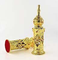 """Восточный флакон ручной работы Сосуд для духов, масел """"Алладин"""" Золото № 8, фото 1"""
