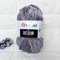 YarnArt Velour Велюр 858 серый