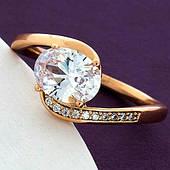 Женское кольцо из медицинского золота Xuping. Ювелирная бижутерия