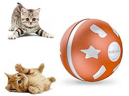 Sundy Игрушка для кошки и собаки USB smart мяч-шарик с хаотичным движением и световыми эффектами  фиолетовый