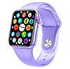 Фитнес браслет трекер Apl Watch Series 6 M26 PLUS Смарт часы с микрофоном Беспроводная зарядка 44mm Aluminium, фото 4