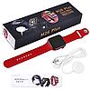 Фитнес браслет трекер Apl Watch Series 6 M26 PLUS Смарт часы с микрофоном Беспроводная зарядка 44mm Aluminium, фото 6