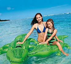 """Надувной плот Intex, 58546 """"Крокодил"""" (168*86 см), фото 3"""
