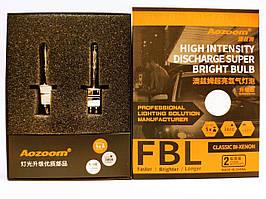 Комплект ксенонових ламп Aozoom FBL, +50%, H1, 5500K, 35W, AMP