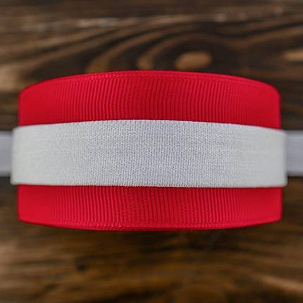 Резинка для бретель белая, 1.5 см V, фото 2
