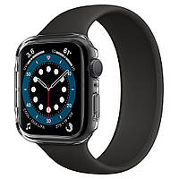 Чехол Spigen для Apple Watch SE / 6 / 5 / 4 (44mm) Thin Fit, Crystal Clear (ACS02814)