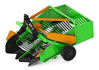 Картоплекопачка транспортерна дворядна Гринол (редуктор, захист від клина)