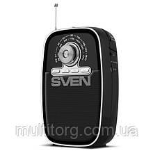 Портативний радіоприймач SVEN SRP-445 чорний УЦІНКА
