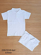 Поло школьная для мальчика с коротким рукавом р. 10-13 лет опт