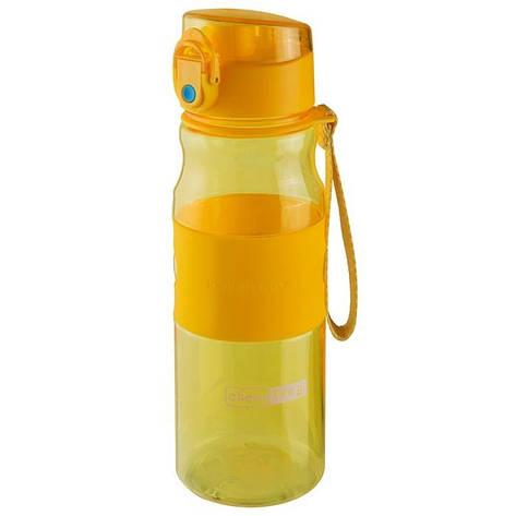 Спортивна пляшка для води 550мл 1107, Жовтий, фото 2