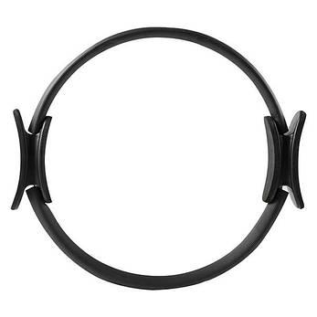 Эспандер кольцо для пилатеса (кольцо для йоги, фитнеса) D=40 cm 84071, Черный, фото 2