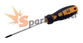 Отвертка крестовая PH0 x 150 мм LT усиленный шестигранный стержень