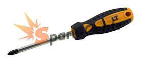 Отвертка крестовая PH2 x 100 мм LT усиленный шестигранный стержень