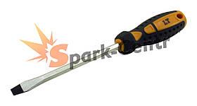 Отвертка шлицевая SL8 x 200 мм LT усиленный шестигранный стержень