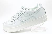Белые мужские кроссовки в стиле Nike Air Force 1 low White
