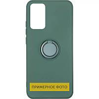 Чохол TPU Candy Ring для Oppo A53 Зелений / Pine green