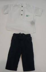 Комплект для мальчика тениска и бермуды