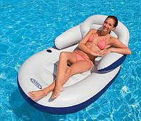 Пляжное надувное кресло-шезлонг