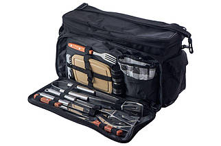 Набор для пикника с термосумкой Скаут - 420 x 250 x 230 мм (11 ед.) (0719), (Оригинал)