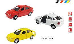Машинка Лада 2110-2112 коллекционная модель Lada металлическая, 1:32-1:36, Автопром